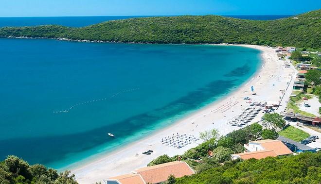 Черногория. Пляж Яз