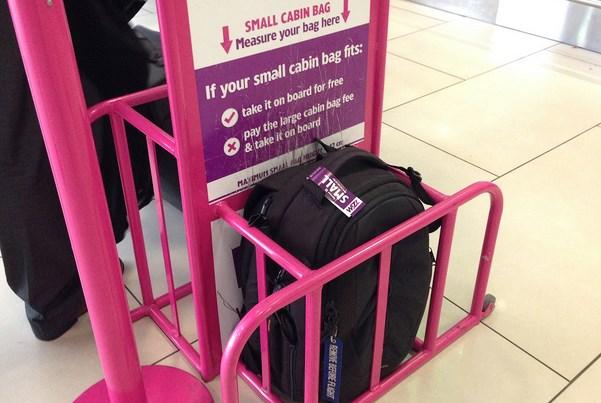 wizz air багаж