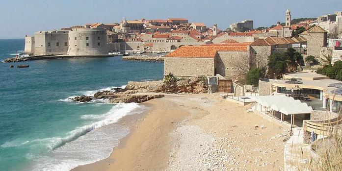 Пляж Банье хорватия