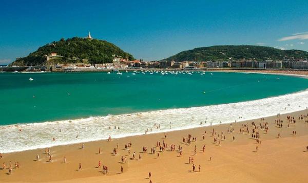 Пляж Сан-Себастьян