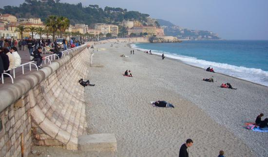 пляжи ниццы