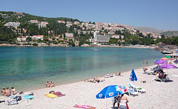 Пляж Лапад (Lapad)